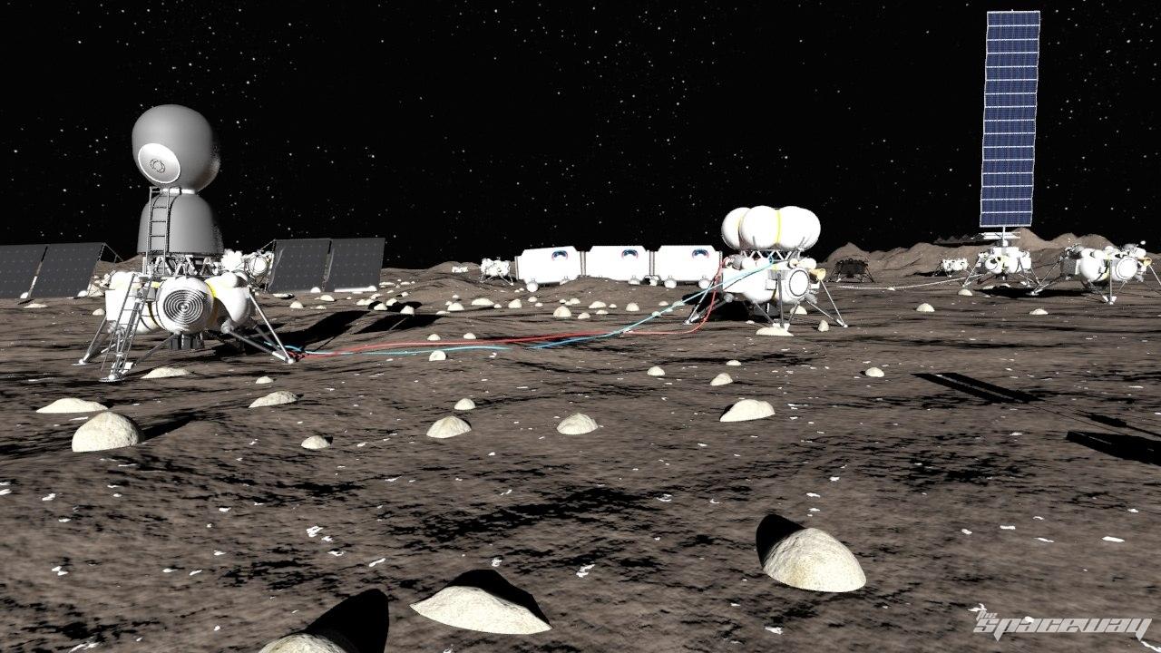 Картинки по запросу Колония на луне