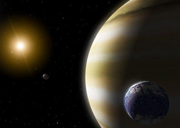 Спутники экзопланет