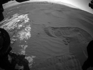 Марсоход NASA Curiosity завершил сбор проб