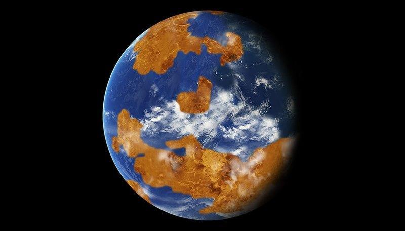 Венера с океанами