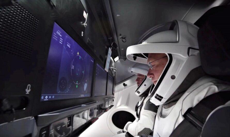 SpaceX показала, как будет проходить пилотируемый полет на МКС (Видео)