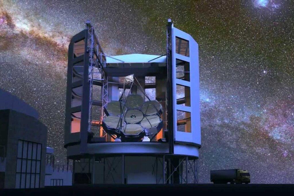 Гигантского Магелланова телескопа
