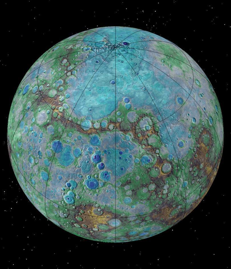 На Меркурии есть тектоническая активность