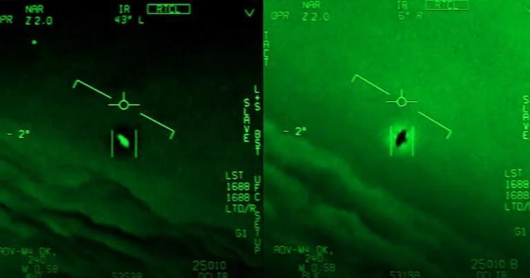 Пилот ВМС США, снявший на видео НЛО, дал интервью «Нью-Йорк таймс»