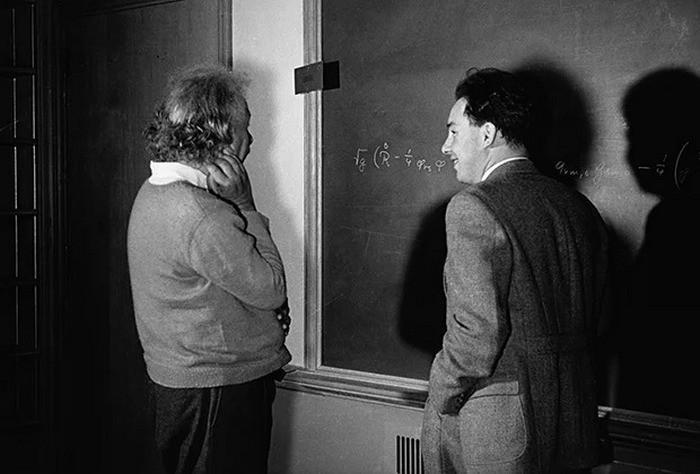 Альберт Эйнштейн и Натан Розен