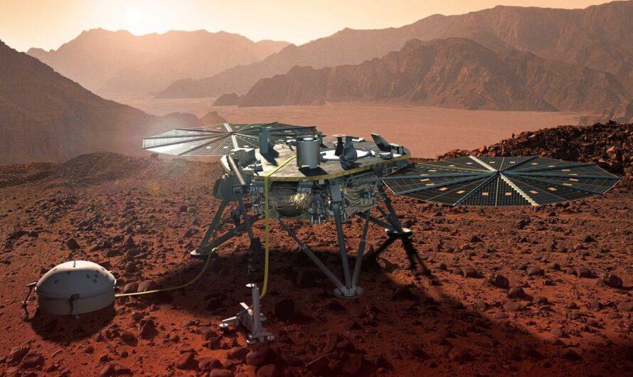 Аппарат NASA InSight зафиксировал свечения в ночном небе Марса и невидимые торнадо