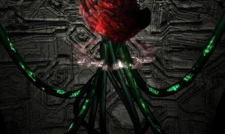 Роза-киборг