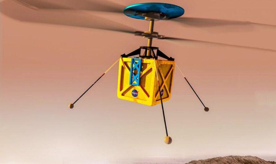 NASA планирует отправить на Марс миниатюрный вертолет