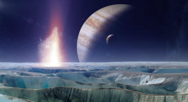 """Профессор Моника Грейди: """"Уверена, что на спутнике Юпитера Европа есть жизнь""""."""