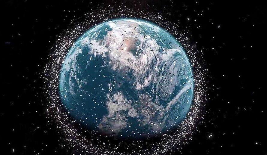 Космический мусор можно превращать в топливо для ракетных двигателей