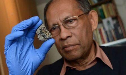 Внеземная жизнь в метеорите?