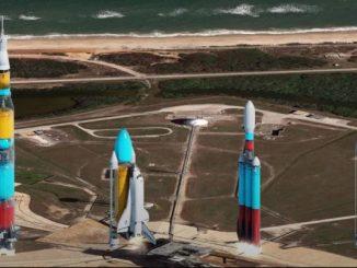 Что бы вы увидели при запуске ракет, если бы они были прозрачными