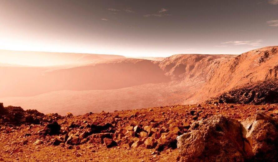 «Мертвые» реки Марса