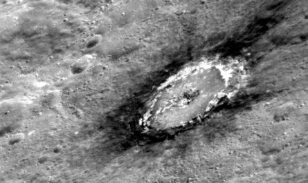 На поверхности Меркурия обнаружен графит