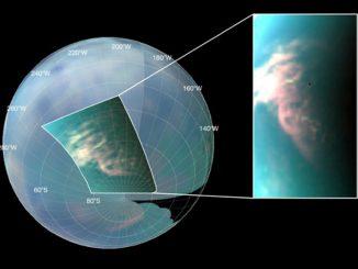 На Титане обнаружен туман