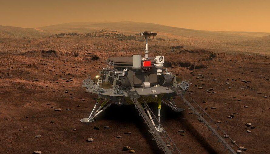 Ровер и орбитальный аппарат Китая доберутся до Марса в 2021 году