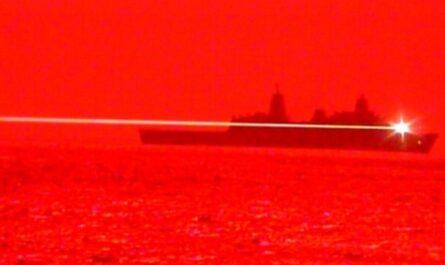 ВМС США показали, как они уничтожают беспилотник лазерной пушкой
