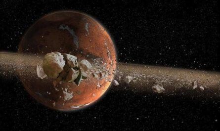Новое исследование: у Марса были кольца