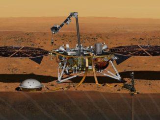 Запуск марсианского аппарата NASA InSight состоится 5 мая 2018 года