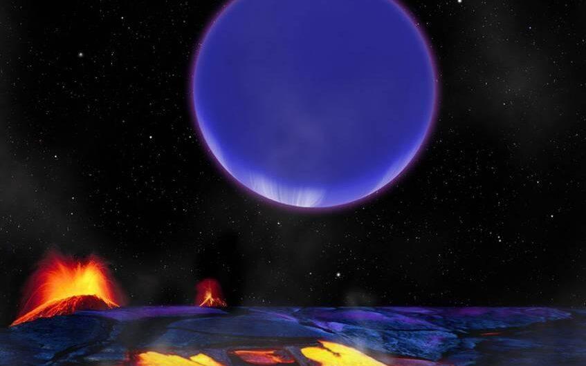 Звезда Kepler-36 практически испарила свои планеты