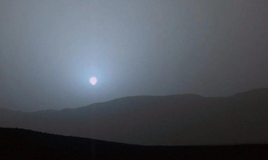 Марсианское небо: планета Земля, закаты, рассветы и солнечное затмение