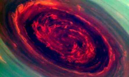 Загадочные ветра на Сатурне