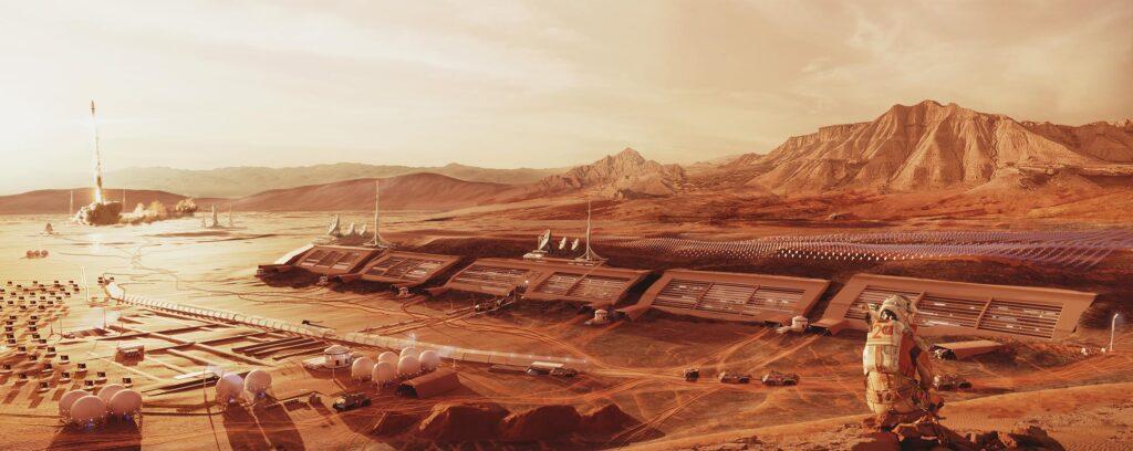 Сколько нужно людей для создания автономной колонии на Марсе?