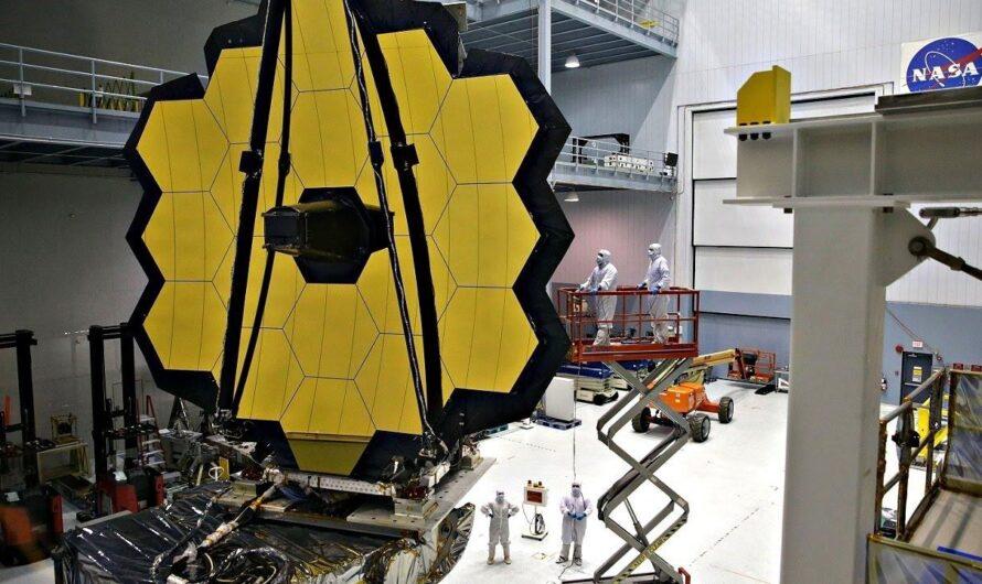 Космический телескоп NASA «Джеймс Уэбб» прошел финальные испытания