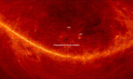 Астрономы открыли гигантскую структуру, простирающуюся на 1,4 миллиарда световых лет