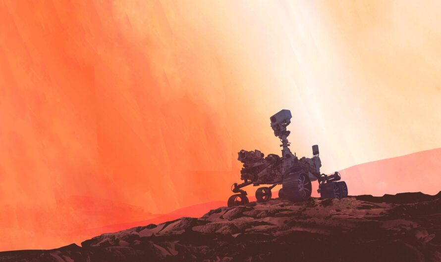 Марсоход NASA Perseverance отправился к Красной планете