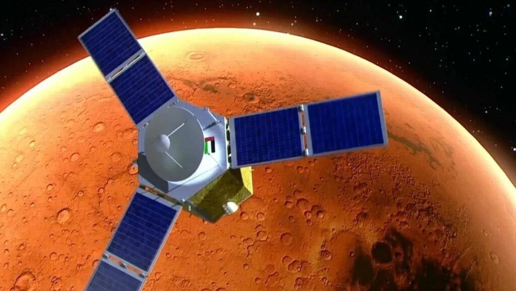 "ОАЭ отправили космический зонд ""Надежда"" на Марс"