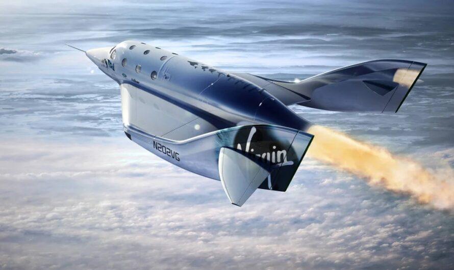 Космоплан Virgin Galactic поднялся на высоту 89,9 километра