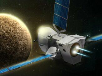 Миссия BepiColombo отправилась к Меркурию