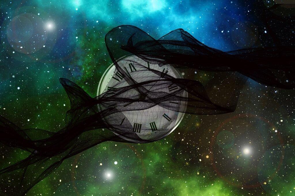 Время и его взаимодействие с материей