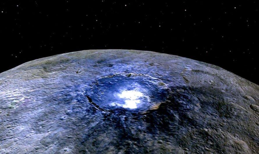 Под поверхностью карликовой планеты Церера нашли соленый океан