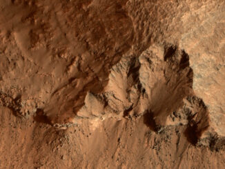 Пролетая над Марсом: снимки за 19.08.2020