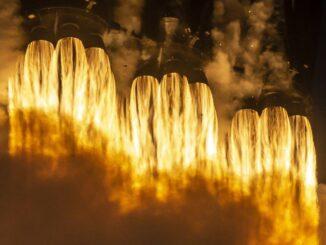 Ракетный двигатель SpaceX прошел испытание при самом высоком давлении в истории