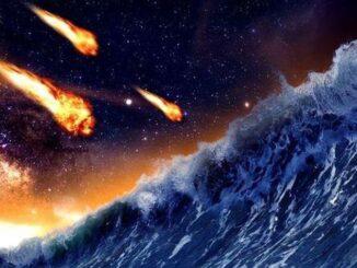 Около 3,5 млрд лет назад на Марс упал метеорит, вызвавший мощное цунами