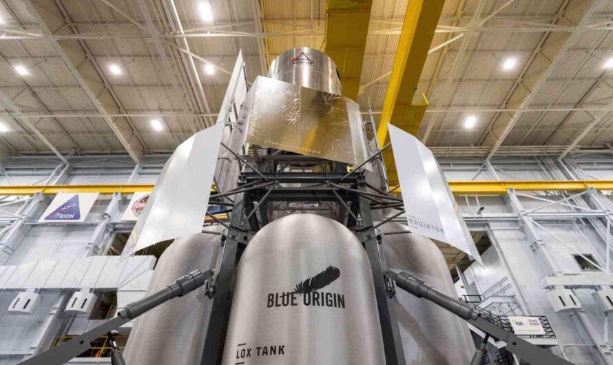 Blue Origin представила NASA прототип лунного посадочного модуля