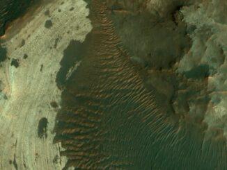 Пролетая над Марсом: снимки за 30.07.2020
