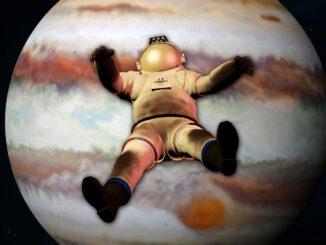 Что будет происходить, если погружаться в атмосферу Юпитера?