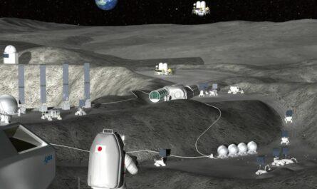 Япония создает роботов, способных построить лунную базу без присутствия человека