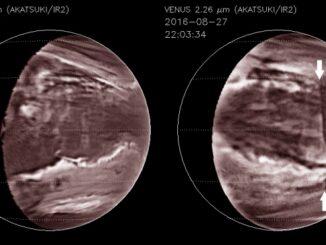 В атмосфере Венеры обнаружена гигантская лавина ядовитых облаков