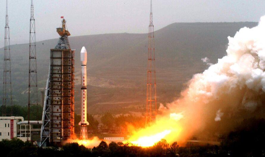 Первая ступень китайской ракеты упала около школы