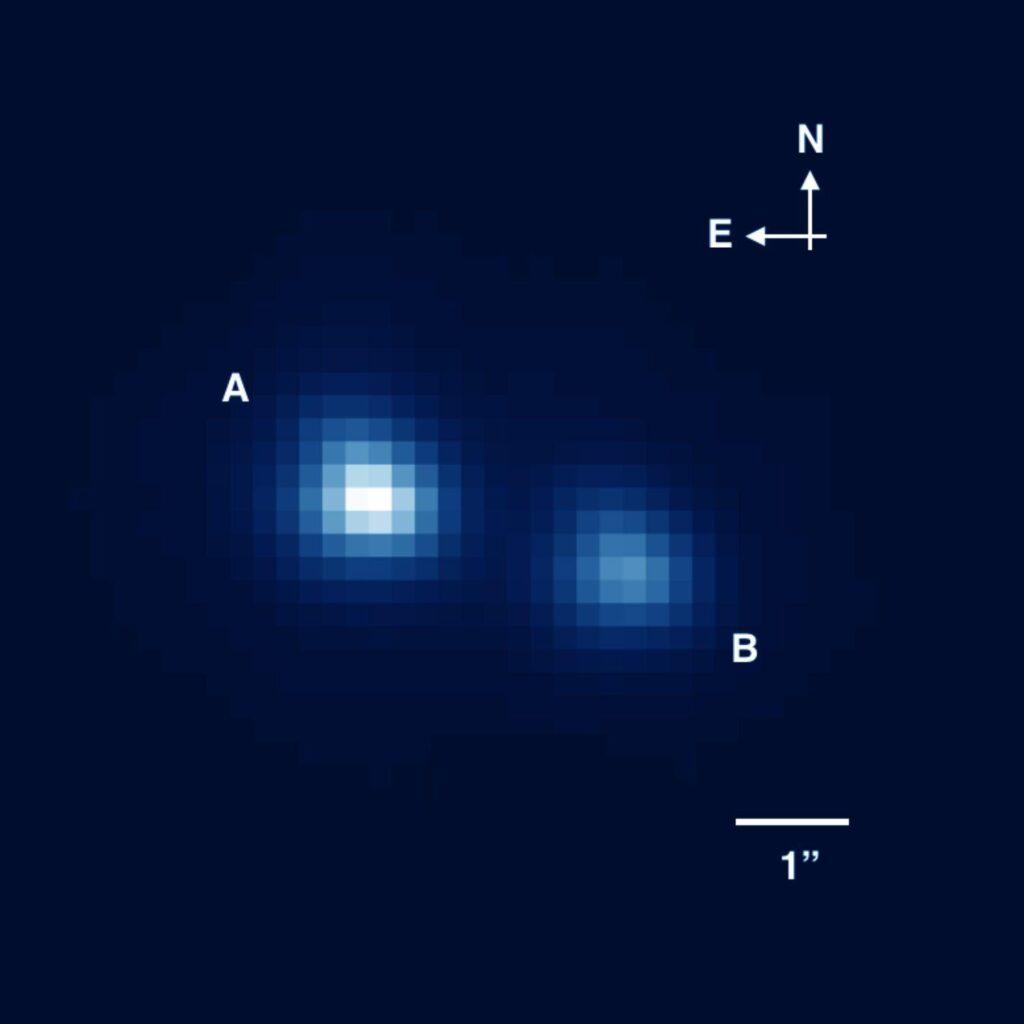Самая маленькая звезда из известных науке