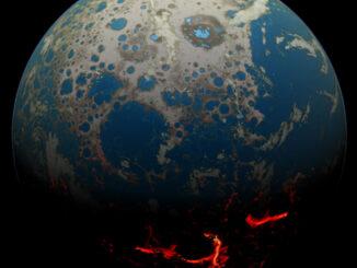 Самая молодая планета в известной Вселенной