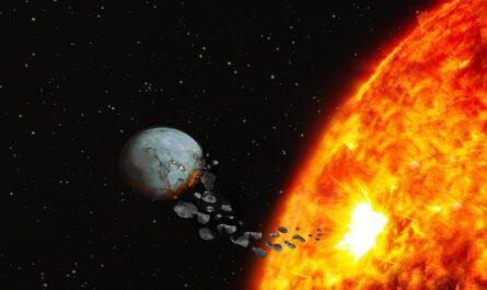 """Солнце """"проглотило"""" планету?"""