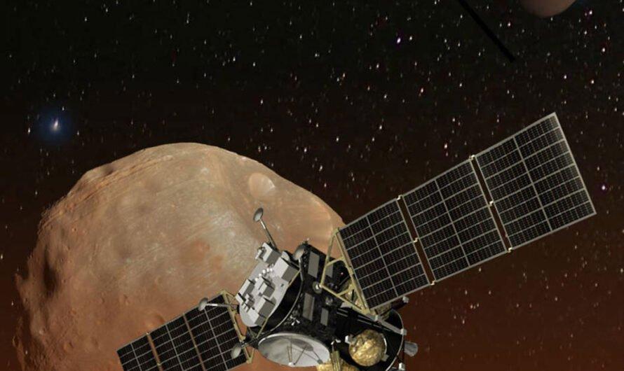 Японский зонд будет делать снимки спутников Марса в разрешении 8К