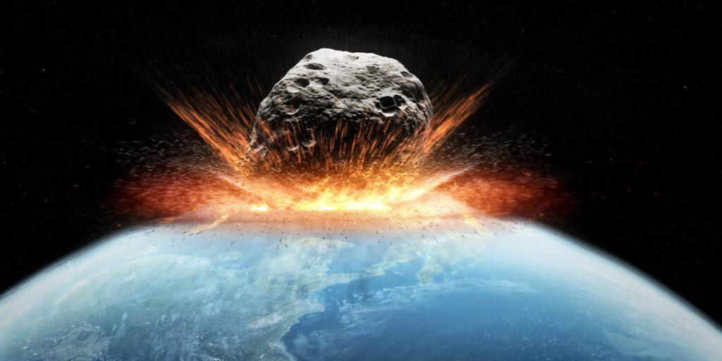 Самый большой астероид, упавший на Землю