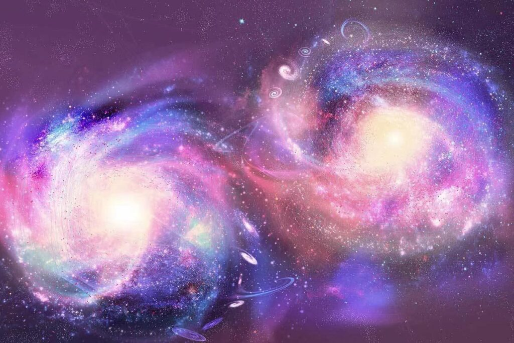 Если Вселенная расширяется, то почему сталкиваются галактики?